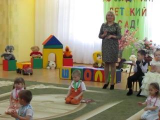 Витино первое выступление в детском саду, Радуга,2014г.Заозерк.