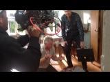 Со съёмок сериала Пасечник 2. Момент из 1-ой серии.