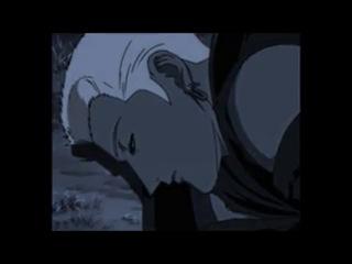 Любовь между 2 аниме ( волчица и пряности и волчий дождь ) Хоро и Цуме