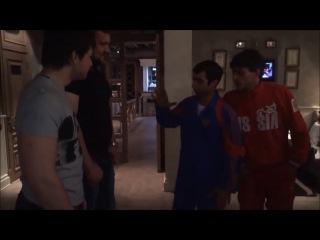 Кирилл Сарычев пугает борцух