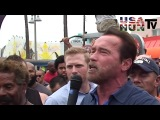 Arnold Schwarzenegger Venice Muscle Beach - Create