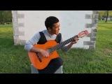 кыргыз жгет на гитаре