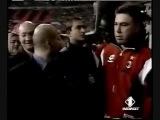 Представление участников прощального матча Франко Барези