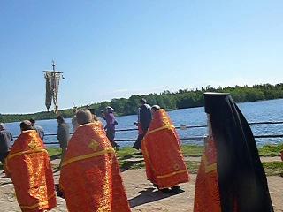 Соловки. Крестный ход на Праздник отдания Пасхи, 2013