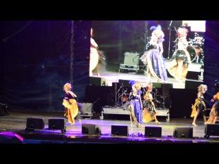 Наташа Шнайдер Шоу балет Мята Фолк группа Кружево Белые ночи 2014