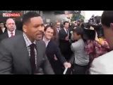 Уилл Смитт дал леща журналисту на премьере фильма Люди в чёрном 3 !