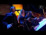 Голос 2: Андрей Цветков - Heal The World (декорациями к выступлению финалиста телешоу стали цифровые небесные фонарики)