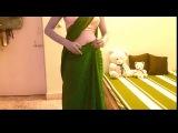 Как одевать сари