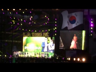 Introducing Artists (LA KPOP FESTIVAL) - CN BLUE, Baek Ji Young, Kim Tae Woo, Girl's Day, 2PM, etc