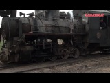 Промышленная узкоколейная железная дорога на паровозной тяге-Китай (Xingyang Brickworks Railway Clay Train 河南省建材廠鉄路(滎陽市)