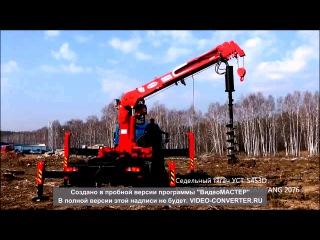 МАЗ-6317-HOTOMY-2656 – автомобиль 6х6 с телескопическим манипулятором