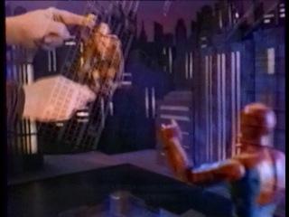Человек-паук 1994 - Реклама настоящих игрушек - 1 (НТВ)