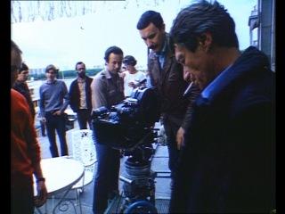 Кинооператор Георгий Рерберг на съёмках фильма «Плюмбум, или Опасная игра»