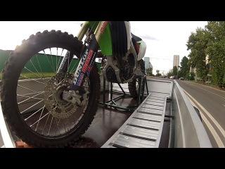 Тест мотоподставки для кроссового мотоцикла_2