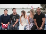 Arrow @ Comic-Con 2013! Stephen Amell! Katie Cassidy! Colton Haynes!| Русская озвучка от (Silent Films)| HD