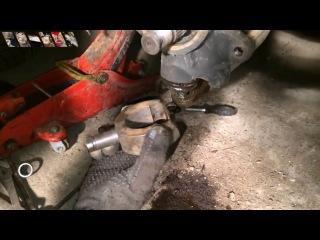 Замена переднего ступичного подшипника Peugeot 406 (Пежо 406)