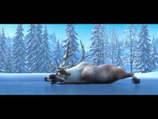 Улетный мульт про снеговика и лося))))