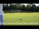 How to Shoot Like Cristiano Ronaldo - CR7 Freekick Tutorial