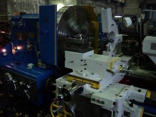 Специальный лоботокарный станок с ЧПУ мод. РТ595 (1М65 РМЦ 1000мм.)