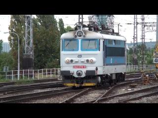 Vlaky ve stanici Brno hlavni nadrazi, 17.9.2013