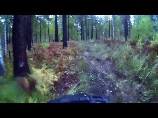 OffRoad 4х4 ATV. Бешеные гонки на квадроциклах по тайге. Extreme 4x4