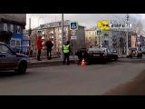 Сотрудники ГИБДД задержали пьяного водителя. Архангельск.