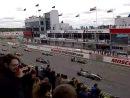 Старт первой гонки Мировой серии Рено 3.5 на Moscow Raceway (фальшстарт)