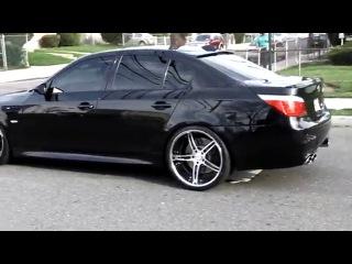 BMW E60 M5 выхлоп покруче женского оргазма D