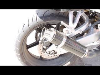 Глушитель Pro Sport Moto RS-07216 на мотоцикле Honda CBR 900RR Fireblade