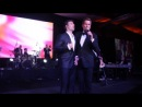 Jencarlos Canela y Willy Chirino en la gala de St. Jude 2014 Wow La Revista