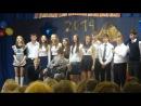 Последний звонок 2014. Школа №1, 9 класс. Песня под гитару.