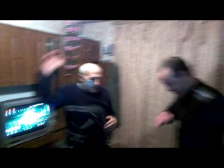 Hot dance ''Sosed pod coFFFe blya i spirt'' and leha-dro s tem mochat 1.06.14