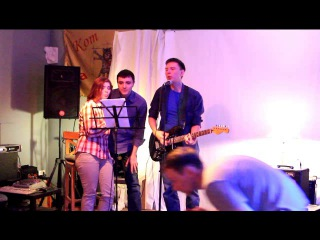 D.Club- Nick, Dasha and Oleg singing