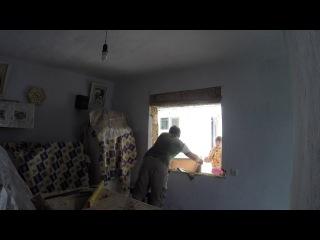 Установка пластикового окна своими руками (06.2014)