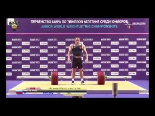 Artem Okulov (85kg) - 165kg Snatch + 197kg Clean & Jerk