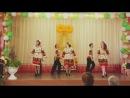 Последний звонок,школа 11,танец Русская рать