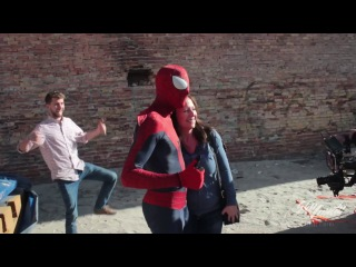 Behind The Scenes - The Amazing Spider-Man Parkour in 4K