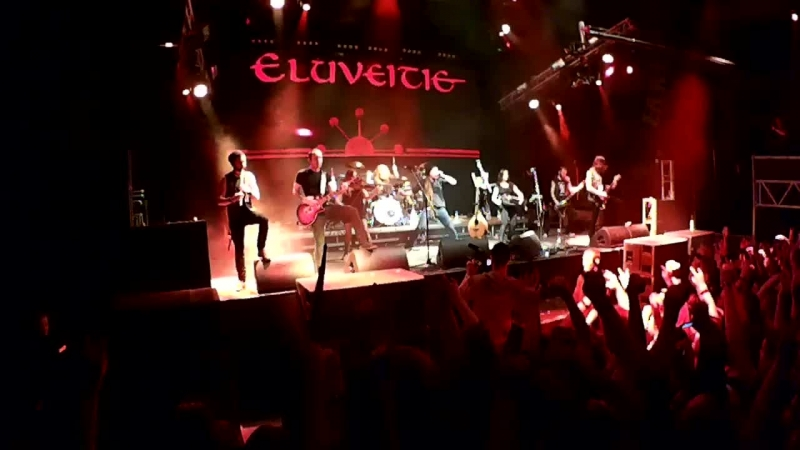 Eluveitie - Thousandfold (live in Yekaterinburg 21.02.15)