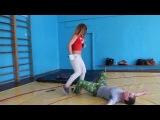1. Зверь и Петя - попытка изнасилования (1)...тренировка постановочного боя