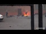 УЖАСНЫЕ КАДРЫ!!! Активисты майдана убивают людей упавших из окон дома профсоюзов. Одесса 2 мая 2014 г.