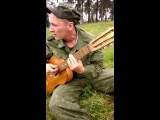 Поцаны уезжают на Украину, успел малость, заснять разведка в/ч 02511 каменка