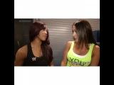 The Bella Twins - Brianna and Nicole Segment Nikki Bella &amp Alicia Fox. (2)
