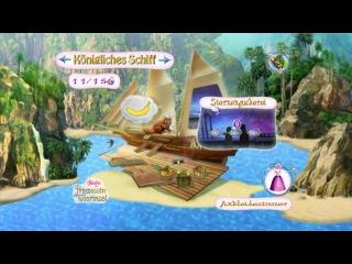 Летсплей Барби Принцесса острова #0005 (Нем)/Let´s Play Barbie Als Prinzessin Der Tierinsel #005 [Deutsch]