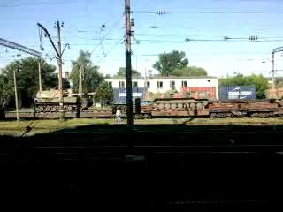 16.06.2014 г. ХУНТА отправляет подкрепление из Харькова на восток