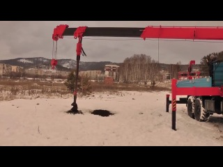 КАМАЗ-43118-HOTOMY-2656 – автомобиль 6х6 с телескопическим манипулятором