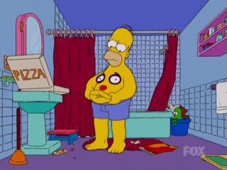 Гомер и мистер пузо