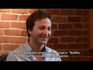 Breckin Meyer about doing Joseph John Gribble and Admiral Gial Ackbar