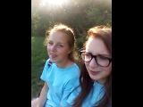 vlog 1 прогулка с Юлей