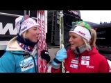 Therese Johaug og Kristin Størmer Steira _ юмористки-хохотушки