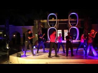 Танец аниматоров отеля Now Larimar Resort & Spa Punta Cana (Доминикана)